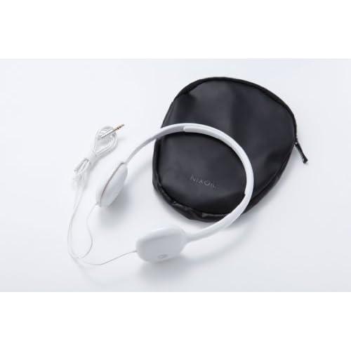 NIXON HEADPHONES: LOOP/ WHITE NH022100-00の写真02。おしゃれなヘッドホンをおすすめ-HEADMAN(ヘッドマン)-