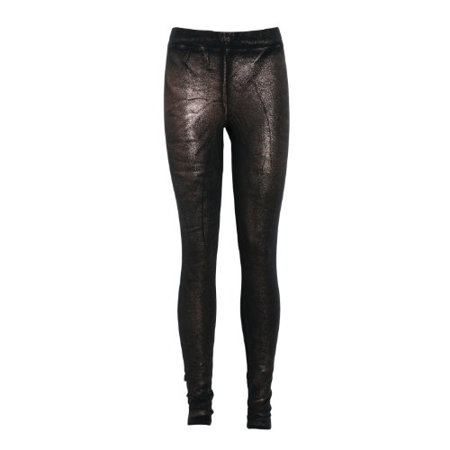 Jijil Women's Bronze Leggings In Size S Black