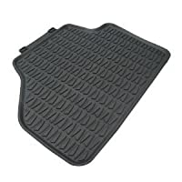 Bmw Oem X1 All-weather Rubber Floor Mats Rear Set-black Fits Xdrive Sdrive Models from BMW