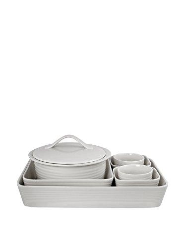 Gordon Ramsay Maze Bakeware 7-Pc Set, White