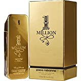 1 Million Absolutely Gold by Paco Rabanne Pure Perfume Spray 3.3 oz for Men (Tamaño: 3.3 Ounces)