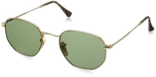 ray-ban-rb3548n-sunglasses-gold-gold-gestell-goldglaser-grun-001-medium