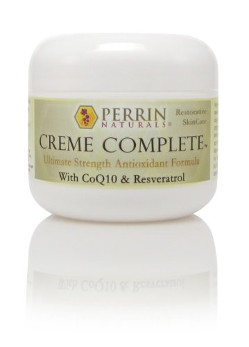 Creme Complete- All Natural, Restorative & Anti-Aging Skin Care. A Corrective Moisturizer For Sun Damage, Lichen Sclerosus, And Wrinkles.