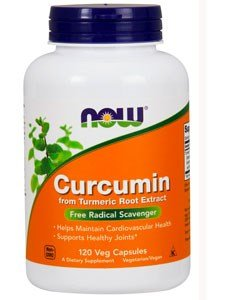 Now Foods Curcumin Turmeric Root Extractract 95%, Veg-capsules