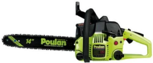 Factory Reconditioned Poulan P3314 or P3314WS 14-Inch 33cc 2-Stroke Gas-Powered Chain Saw