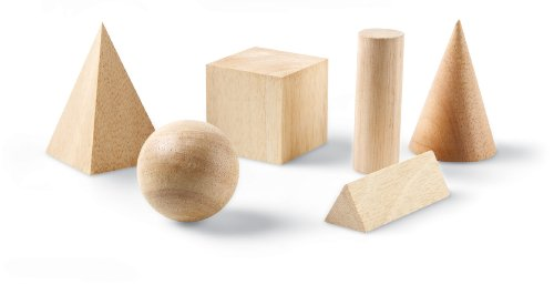 Basic Geometric Solids (6 pieces)