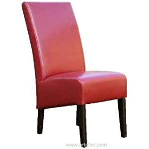 Artefac Rv 014 Red Leather Dining Chair