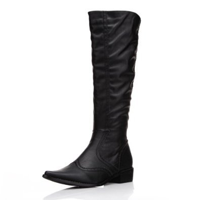 Alexis Leroy Women and Girls' Knee High Pointed Toe Cold Weather Boots【並行輸入】