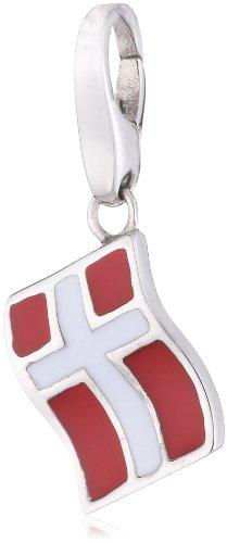 Giorgio Martello Charm Silver 151-803039 Lucky Flag Denmark