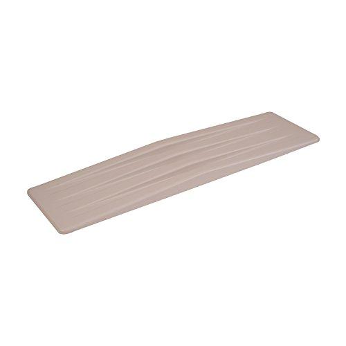 DMI Transfer Slide Board, Transfer Board, Wheelchair Transfer Board, Lightweight Plastic, White (Medical Slide Board compare prices)