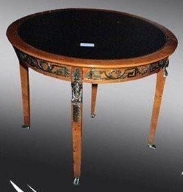 Mesa de centro de mesa de comedor de estilo barroco y rococó Luis XV MoAl0191