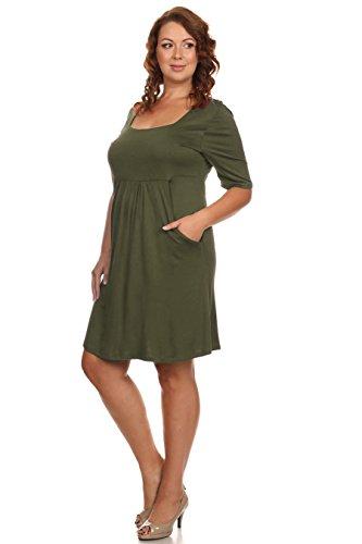 Zoozie LA Women's Plus Size Dresses