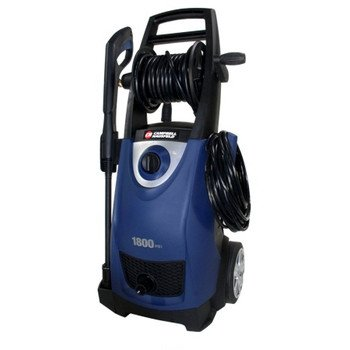 Factory-Reconditioned Campbell Hausfeld Pw1835Ylrb 1,800 Psi Electric Pressure Washer With Hose Reel