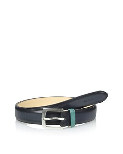 Paul Smith Men's Trouser Belt, Navy