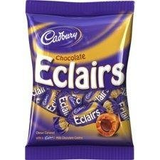 Cadbury Chocolate Eclairs 166g - Pack of 6 by Cadbury [Foods]