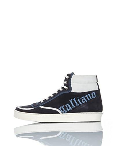 Galliano Sneaker Alta O'Neal [Blu]