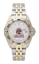 New York Rangers Mens All Star Sterling Silver Bracelet Watch