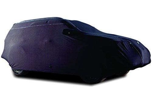 TPH Microlite morbido velluto finitura vestibilità personalizzata semi-esterni Nero Auto, con filetto bianco per Isuzu Hombre