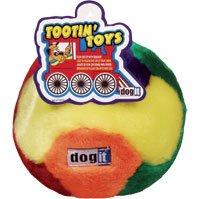 Dog It Tootin Toys Plush Ball Large – Dog It 72636