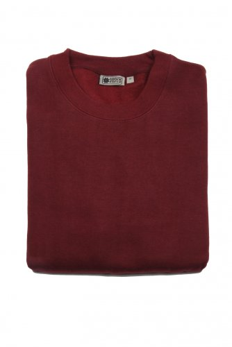Mens Workforce Sweatshirt In Burgundy - XX-Large - Burgundy