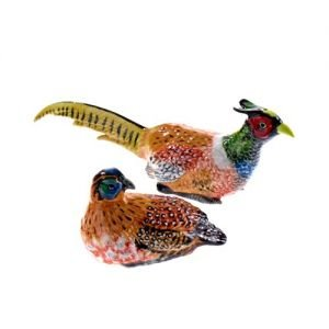 At home in the country - Pheasant Salt and Pepper Set by At home in the country
