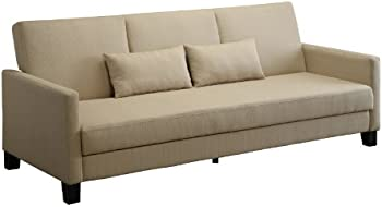 DHP Vienna Sofa Sleeper with 2 Pillows