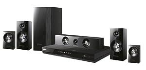 Samsung HT-D5500 Home cinéma Blu-Ray / DVD 5.1 Smart Hub HDMI USB Compatible 3D Station d'accueil pour iPod / iPhone Noir