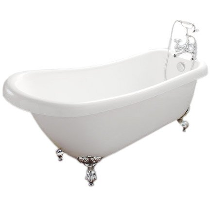 Traditional Roll Top Slipper Bath