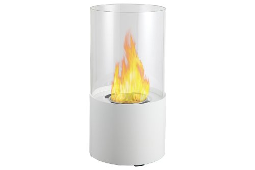 Ignis Circum White Tabletop Ventless Ethanol Fireplace picture