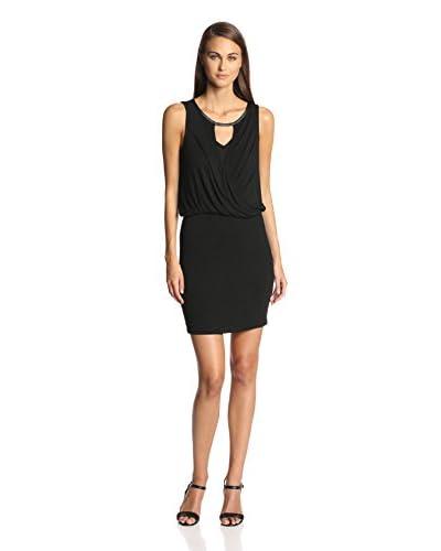 Ella Moss Women's Icon Jersey Surplice Dress