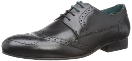 Ted Baker Mens Barsel Brogue 9-12774 Black 7 UK, 41 EU