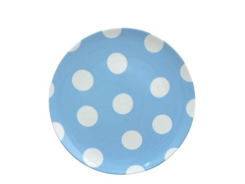 Summer Vacations 8-Inch Salad Plate (Blue) by Loveramics