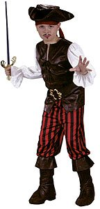 Pirate Boy Deluxe Kids Costume