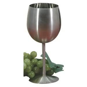 Danesco Stainless Steel Wine Goblet - 10 oz