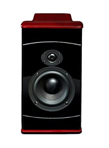 Boston Acoustics VS Series VS260PF Bookshelf Speaker (Black/Cherry) (Discontinued by Manufacturer)