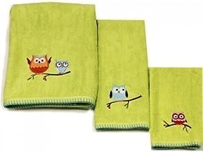 quotHooty Hootquot Bathroom Shower Collection - 1-Piece Bath Towel