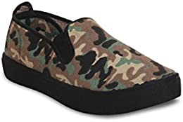 Scentra Men Canvas Moccasins LAUBRDEFNDR