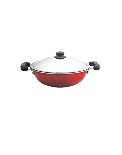 Anantha Non-Stick Kadai With Lid (24 cm)