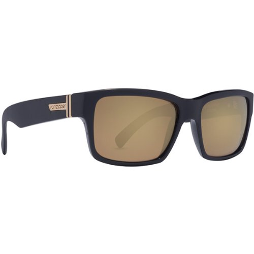 VonZipper Fulton Battlestations Men's Sports Wear Sunglasses/Eyewear - Black/Gold Glo / One Size Fits All