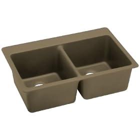Elkay ELG3322MC0 Gourmet E-Granite Sink, Mocha