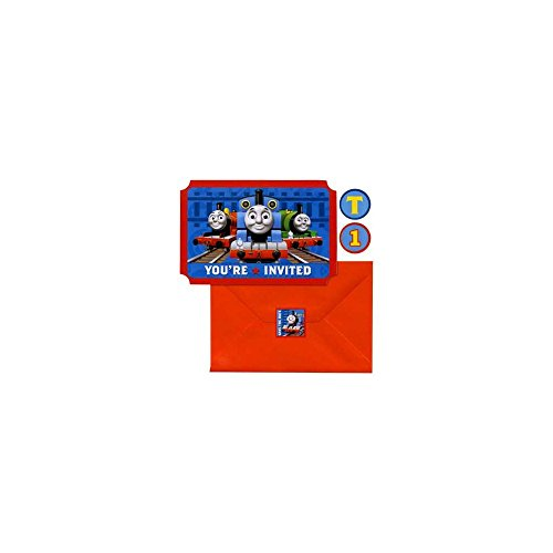 Sale!! Thomas and Friends 'Save the Date' Invitations w/ Envelopes & Stickers (8ct)