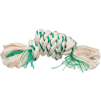 Booda Fresh 'N Floss Spearmint Large Rope Knot Dog Toy