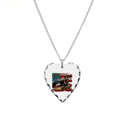 Necklace Heart Charm All American Outfitters