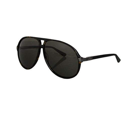 Gucci Unisex Havana Aviator Sunglasses GG1646/S