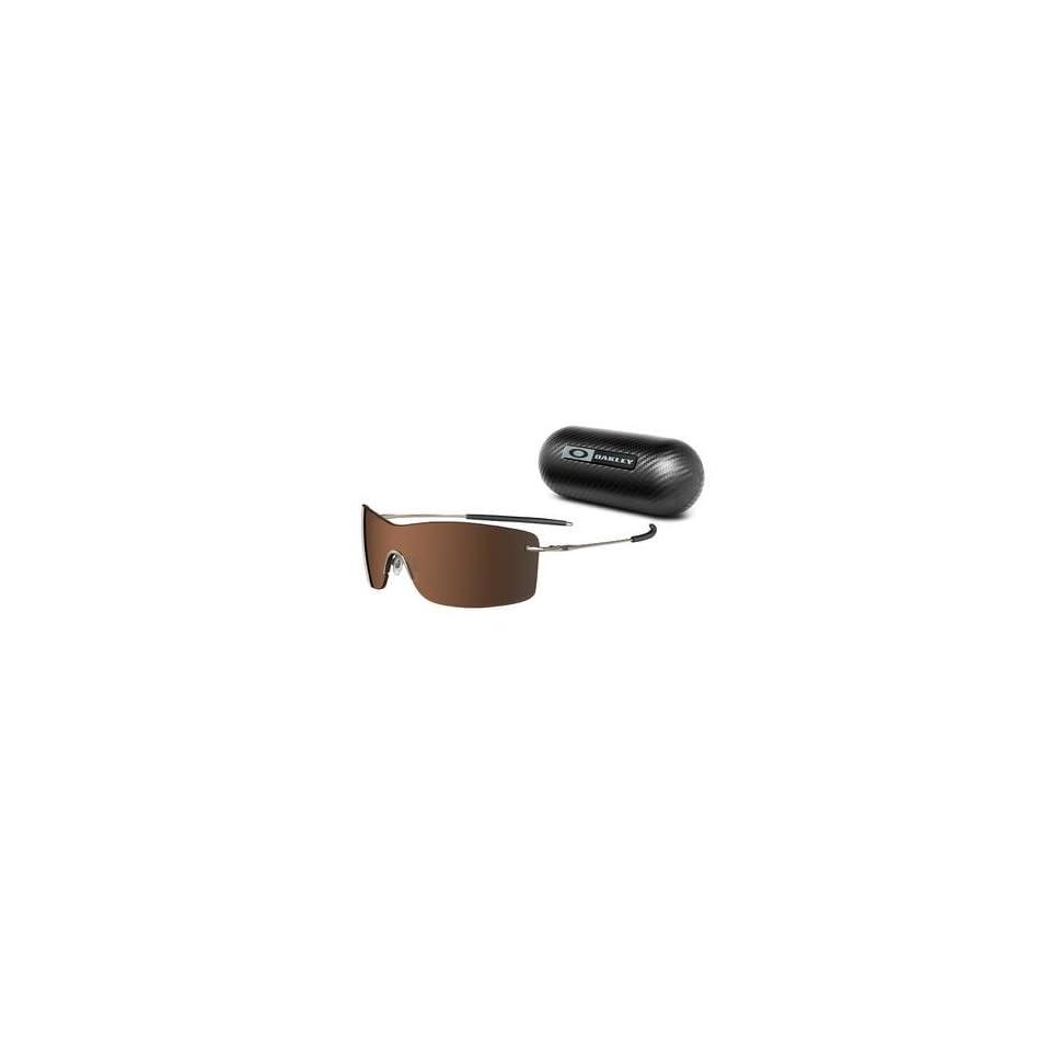 8abee33bfac Oakley Nanowire 3.0 Sunglasses 12 920 Brown Chrome Frame on PopScreen