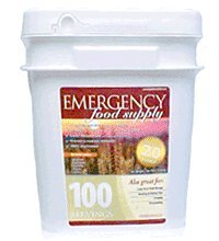 Emergency Food Storage Food Supply - 100 Servings