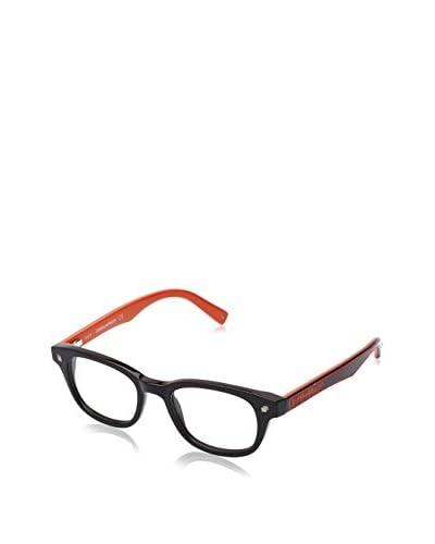 D Squared Montura DQ5098-001-48 (48 mm) Negro / Naranja