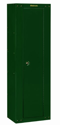 Stack-On GCG-8RTA 8 Gun Ready to Assemble Steel Security Cabinet, Hunter Green