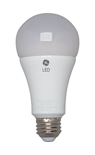 ge lighting 92119 3 way led 50 100 150 watt replacement a21 bulb with medium base soft white 1. Black Bedroom Furniture Sets. Home Design Ideas