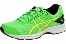 ASICS GEL-GALAXY 9 GS BOYS (5 USA - 37,5 EUR) (GREEN GECKO/SAFETY YELLOW/BLACK)